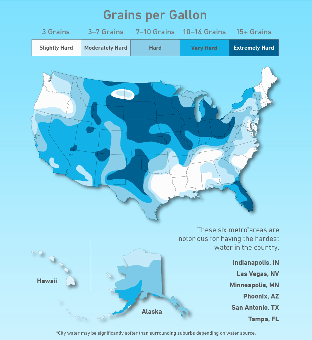 Hard Water in the US